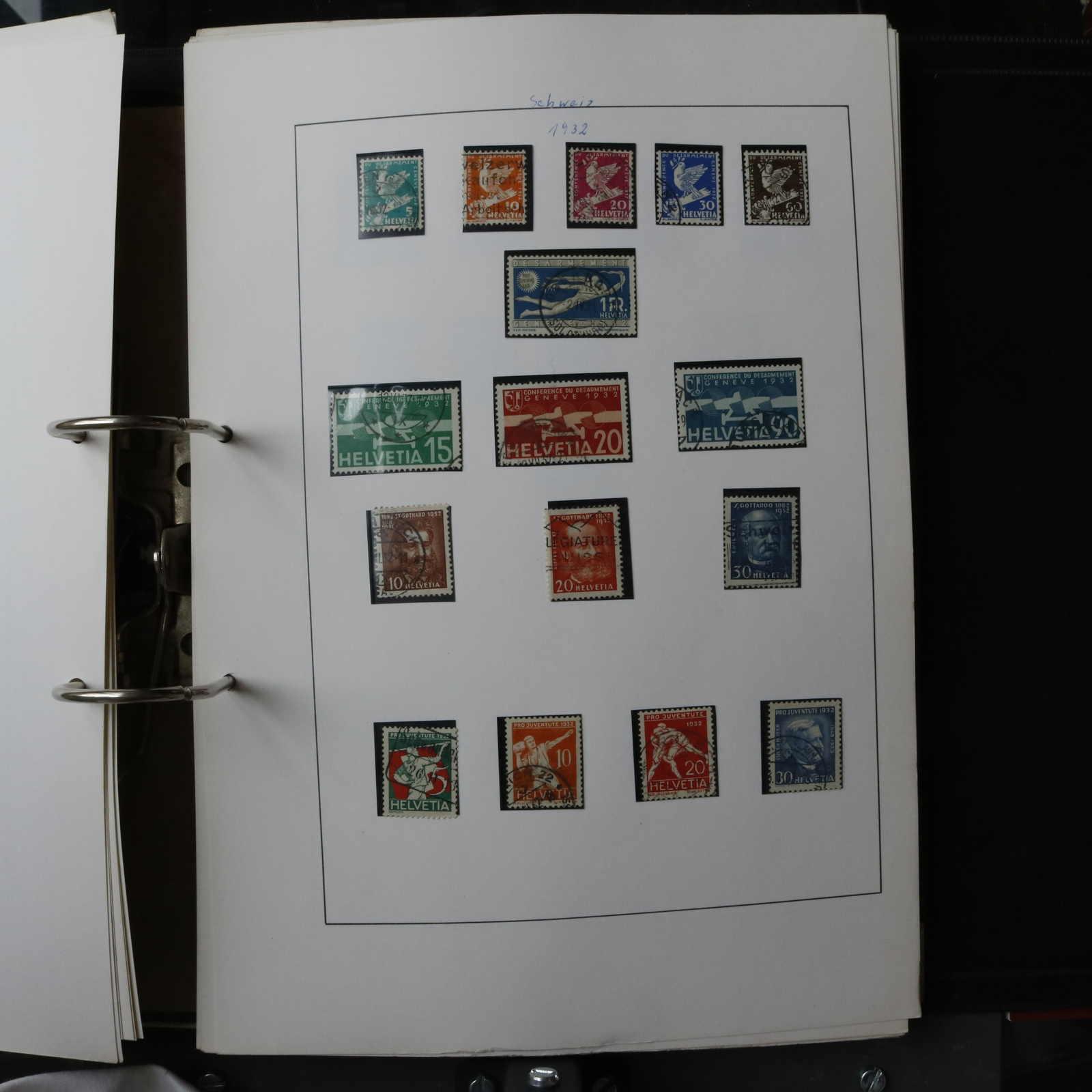 Lot 2584 - COLLECTIONS & ACCUMULATIONS Switzerland -  Auktionshaus Schlegel 26 Public Auction