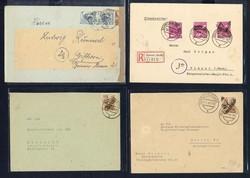 1370160: SBZ Handstempel Bezirk 37 - Briefe Posten