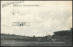 440210: Luftfahrt, Pioniere, Postkarten