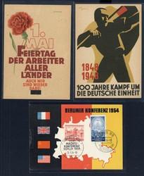723: Propaganda Post after 1945 - Covers bulk lot
