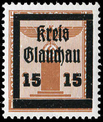930: German Local Issue Glauchau