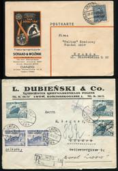 4970: Polen Ausgaben für Port Gdansk - Briefe Posten