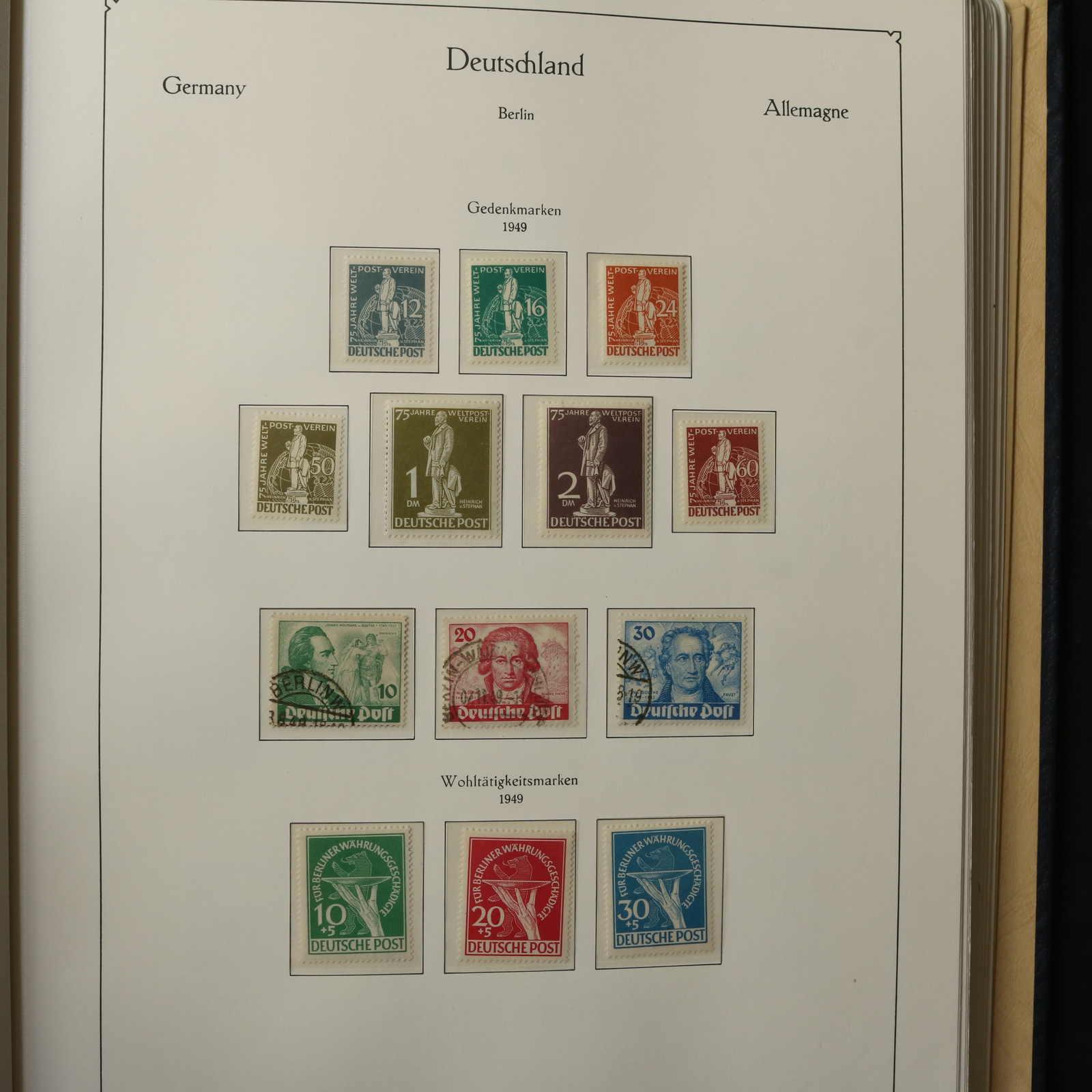 60 Geprüft Schlegel Freimarken Tegeler Schloss Berlin 1948-1949 Nett Berlin 1949 Postfrisch Minr Briefmarken