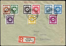 1370030: SBZ Ostsachsen - Briefe Posten