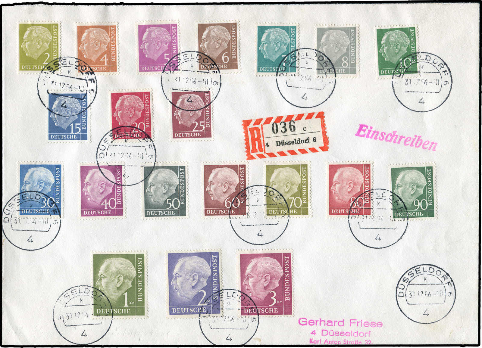 Lot 8439 - federal republic of germany bundesrepublik deutschland -  Auktionshaus Schlegel 26 Public Auction