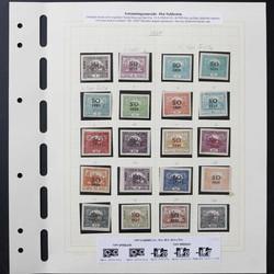 6340: Tschechoslowakei Ostschlesien - Sammlungen