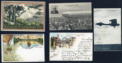 7940: Lots and Collections Picture Postcards Topics