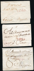 4915: Peru - Briefe Posten