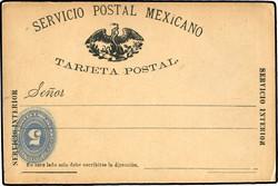 4425: Mexiko - Ganzsachen