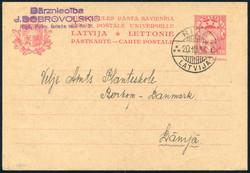 4145: Lettland - Ganzsachen
