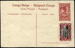 1855: Belgisch.Kongo Belgische Besetzung Deutschostafrika - Ganzsachen