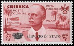 3545: Italienisch Cyrenaica - Dienstmarken