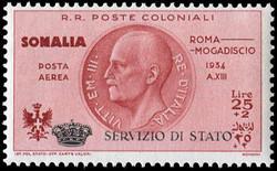 3580: Italienisch Somaliland - Dienstmarken