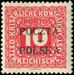 4945: Polen - Portomarken