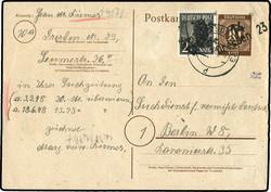 1370080: SBZ Handstempel Bezirk 14 - Ganzsachen
