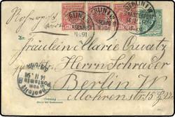 105: Berliner Postgeschichte - Ganzsachen