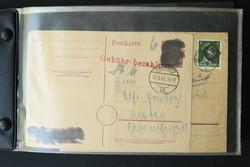 1370025: SBZ Bundesland Sachsen - Briefe Posten