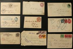 7365: Sammlungen und Posten Amerika - Briefe Posten