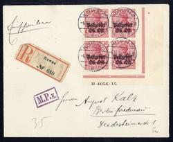370: Deutsche Besetzung I. WK Postgebiet Ober Ost - Briefe Posten