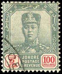 4265: Malaiische Staaten Johor