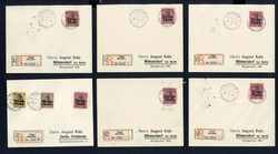 155: German Post in Morocco - Covers bulk lot