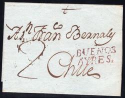 1715: Argentinien - Vorphilatelie