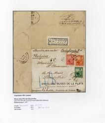 1715: Argentinien - Briefe Posten
