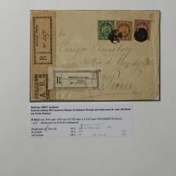 1905: Bolivien - Briefe Posten