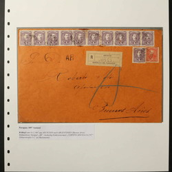 4905: Paraguay - Briefe Posten