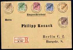 150: Deutsche Auslandspost China - Briefe Posten