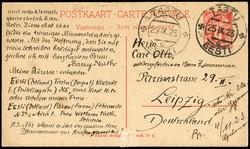 2455: Estland - Ganzsachen