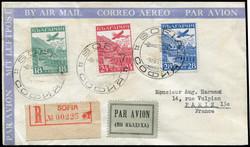 2010: Bulgarien - Flugpostmarken