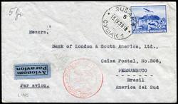 3775: Jugoslawien - Flugpostmarken