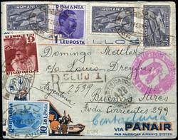 5405: Rumänien - Flugpostmarken