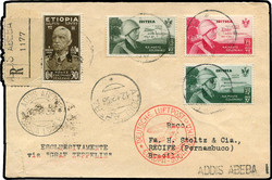 3540: Italian Occupation of Ethiopia - Airmail stamps