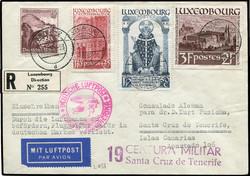 4210: Luxemburg - Flugpostmarken