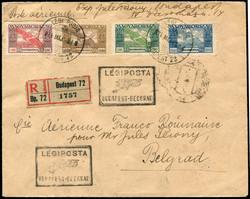 6535: Ungarn - Flugpostmarken