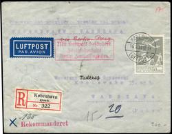 2355: Dänemark - Flugpostmarken
