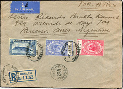2790: Gibraltar - Airmail stamps