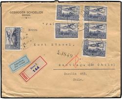 6335: Czechoslovakia - Airmail stamps