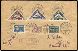 4185: Lithuania - Airmail stamps