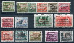 6545: Ungarn Lokalausgaben Sopron - Sammlungen