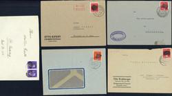 1290: Sächsische Schwärzungen - Briefe Posten