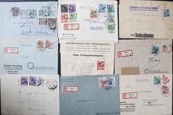 1370070: SBZ Handstempel Bezirk 3 - Briefe Posten