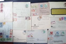 1370080: SBZ Handstempel Bezirk 14 - Briefe Posten