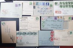 1370100: SBZ Handstempel Bezirk 20 - Briefe Posten