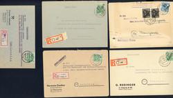 1370110: SBZ Handstempel Bezirk 27 - Briefe Posten