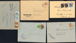 1370130: SBZ Handstempel Bezirk 2* - Briefe Posten