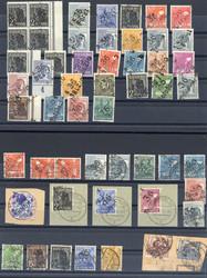 1370140: SBZ Handstempel Bezirk 36 - Sammlungen