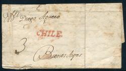 2055: Chile - Vorphilatelie
